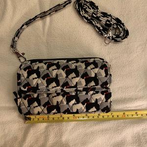 Vera Bradley Scottie Dog Wallet Crossbody